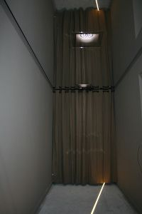 Couloir plafond tendu miroir