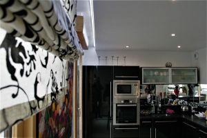 Plafond tendu cuisine mat blanc