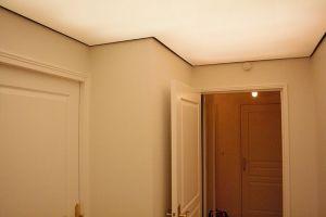 Plafond tendu rétro éclaire