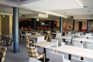 Restaurant plafond tendu acoustique